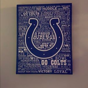 Colts canvas